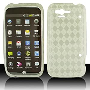 For Verizon HTC Rhyme Accessory - Clear Agryle TPU Skin Soft Case Proctor Cover + Lf Stylus Pen