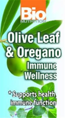 Bio Nutrition Inc Immune Wellness Olv Lf&Or 60 Vcap by Bio Nutrition