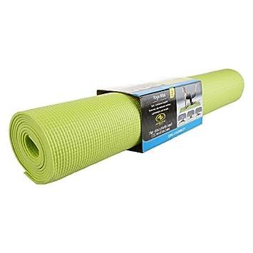 Athletic Works - Esterilla de yoga, color verde ejercicio 68 ...