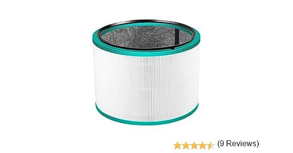 Quailitas - Conjunto de filtros Hepa de Repuesto para Dyson DP01 Des HP02 Pure Hot + Cool Link Purifier: Amazon.es: Hogar