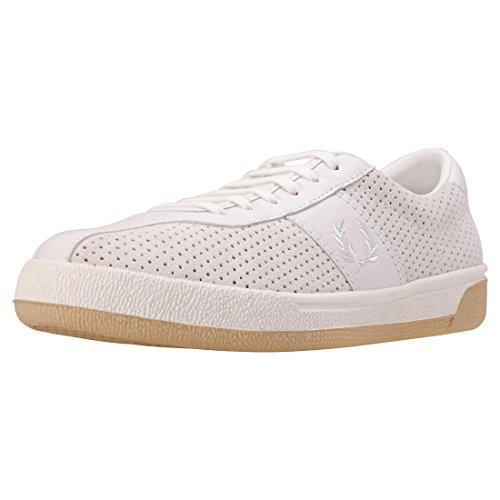 (Fred Perry B1 Tennis Shoe Perf Mens Trainers Porcelain - 12 UK)