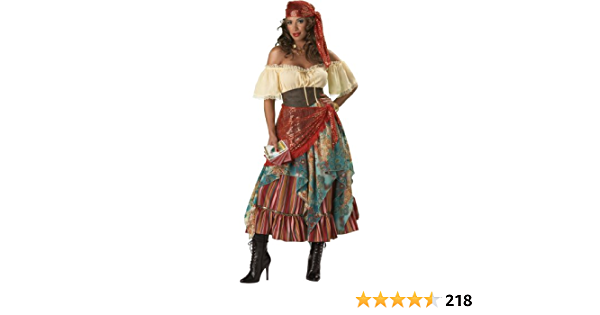 Mystical Charmer Gypsy Fortune Teller Costume Adult Women Plus Size 01764