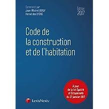 CODE DE LA CONSTRUCTION  ET DE L'HABITATION 2018