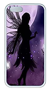 iPhone 5S Case iPhone 5S Cases Gothic Fairies HAC1014272 TPU Rubber Soft Case Back Cover for iPhone 5/5S White