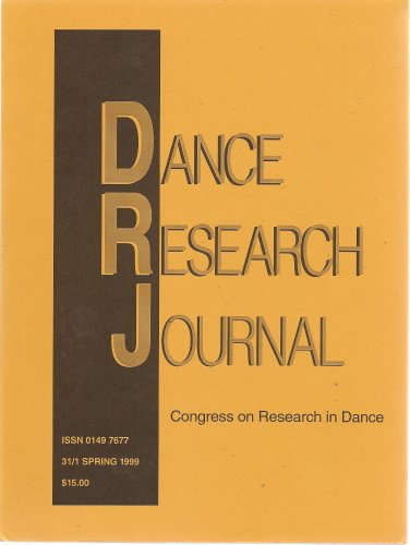 Dance Research Journal:  31/1 Spring 1999