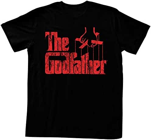American Classics Men's Godfather Distressed Logo T-Shirt