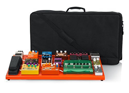 "Gator Cases Aluminum Guitar Pedal Board with Carry Bag; Extra Large: 32"" x 17"" 