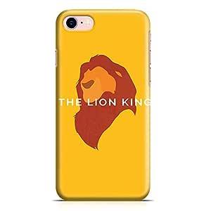 Loud Universe The Lion King iPhone 7 Plus Case Minimal Lion King iPhone 7 Plus Cover with 3d Wrap around Edges