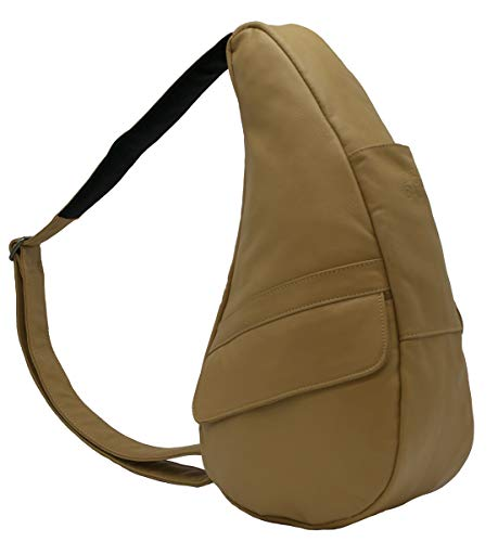AmeriBag Classic Healthy Back Bag tote Leather Small (Sand) ()