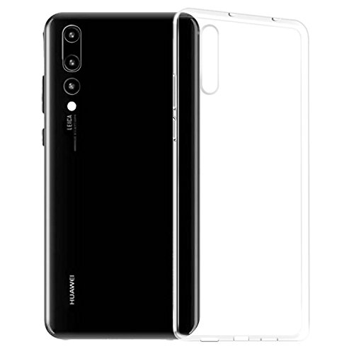 premium selection 82ceb c27c0 Olixar Huawei P20 Pro Clear Case - Slim Soft Gel Cover - Ultra Thin 100%  Clear - Flexible Transparent Case