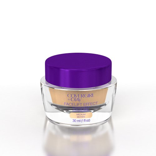COVERGIRL+Olay FaceLift Effect Firming Makeup Medium 350, 1 oz, Old Version (packaging may vary) ()