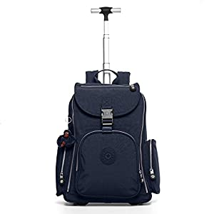Kipling Alcatraz II Wheeled Backpack with Laptop Protection (18-Inch, True Blue)