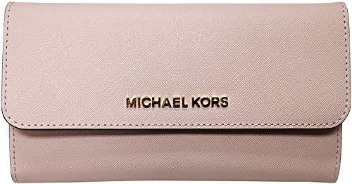 Michael Kors Women's Jet Set Travel Large Trifold Wallet 5