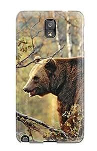 ERvUxLu11267LFkZB MeaganSCleveland Bear Durable Galaxy Note 3 Tpu Flexible Soft Case