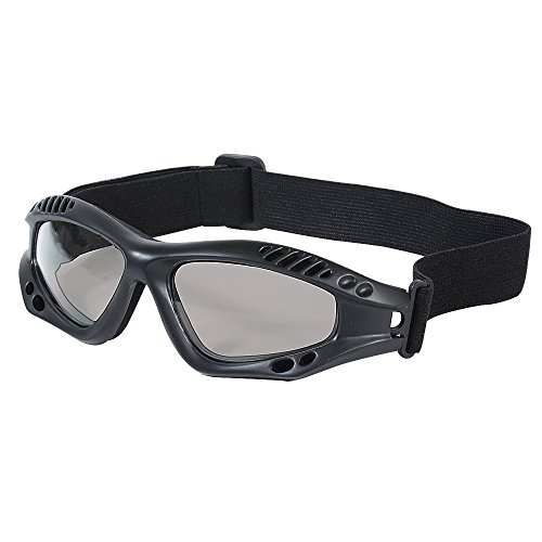 Voodoo Tactical Men's Sportac Goggle Glasses, Black Frame