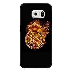 Hot Fire Real Madrid CF Phone Case For Samsung Galaxy S6 Edge Cool Fire Real Madrid