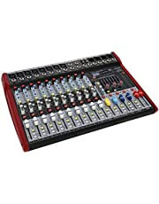 Swamp 10 Channel Mixing Desk - 8 Mic Preamps - Graphic EQ - USB Recorder