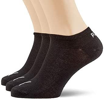 PUMA Men's Socks Plain 3P, Black, 10A