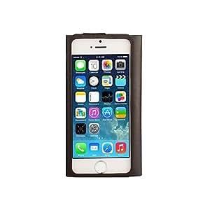 GX doble cara caja del teléfono de cuero genuino para iPhone5 / 5s , Brown