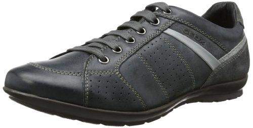 A Basse Sneaker dk Uomo Grey Grigio Symbol C0005 black Geox 4wtq5ZWE