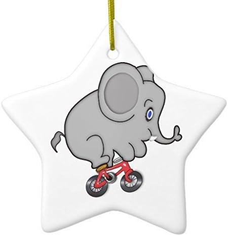 Lionkin8 - Adornos navideños Divertidos con diseño de Elefante ...