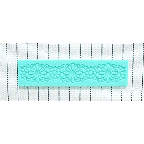Martha Art Craft - Sugarcraft Decorating Kit High Quality Ribbon Fondant Molds Silicone Silicone Cake Mold Cake Cookie Chocolate -Silicone Soap Mold Silicone Theme Lovely Ribbon (Random Color) By Paradise Smile