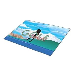Asyouw Golf Holiday Doormats Blank One size Fall Doormats