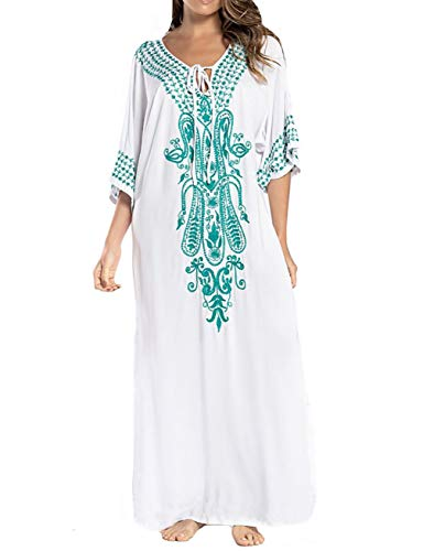 Embroidered Caftan - 5