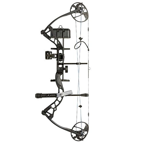 Diamond Archery Infinite LH Edge 5-70-pound Black Pro Bow Package (Diamond Youth Bows)