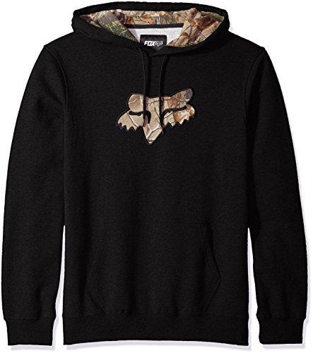 Fox Men's Realtree Pullover Fleece, Black, Medium