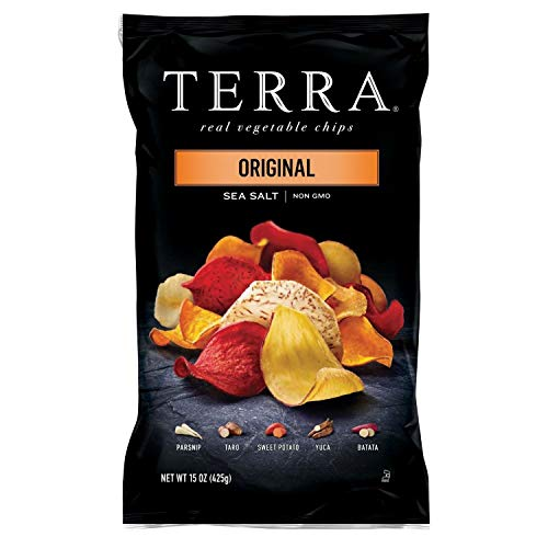 Terra Original Sea Salt Vegetable Chips, (15 oz., Pack of 2) SA