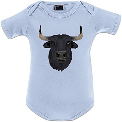 Shirtcity Body bebé Cabeza De Toro Realista by: Amazon.es: Ropa y accesorios