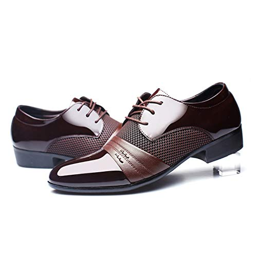 Mens Business Dress Shoes Pointed Toe Lace up Comfortable Oxford Sheos by Phil Betty (Image #4)