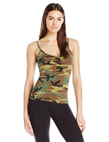 (Rothco Women's Casual Tank Top, Woodland Camo, Small)
