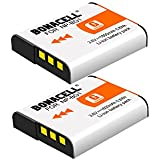 Bonacell 2 Pack Replacement Sony NP-BG1 Battery for Sony Cyber-shot DSC-W220, DSC-H50, DSC-W150, DSC-H55, DSC-H3,DSC-H10, DSC-H20, DSC-H50, DSC-HX7V, DSC-HX9V DSC-W80