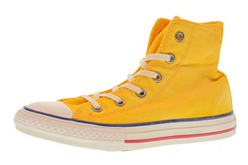 Converse Shoes Girl high Sneakers 661014C CTAS HI Size 35.5 (Yellow Converse Shoes)