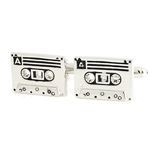 The Smart Man Men's Cassette Cufflinks