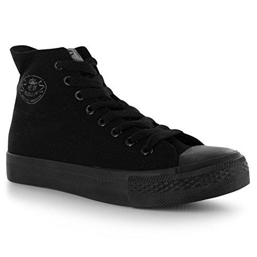 Dunlop - Zapatillas para niño Negro negro Negro - negro