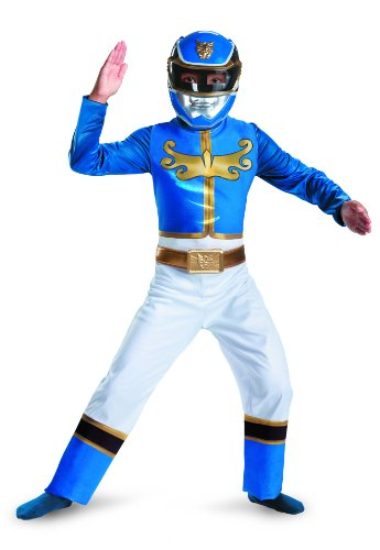 [Disguise Power Ranger Megaforce Blue Ranger Boy's Classic Costume, 10-12] (Power Rangers Megaforce Halloween)