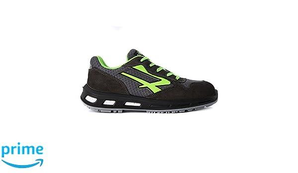 U-Power Red Lion EMOTION S1P SRC: Zapatos de seguridad trabajo para hombre/mujer talla 43 VA39EnNP