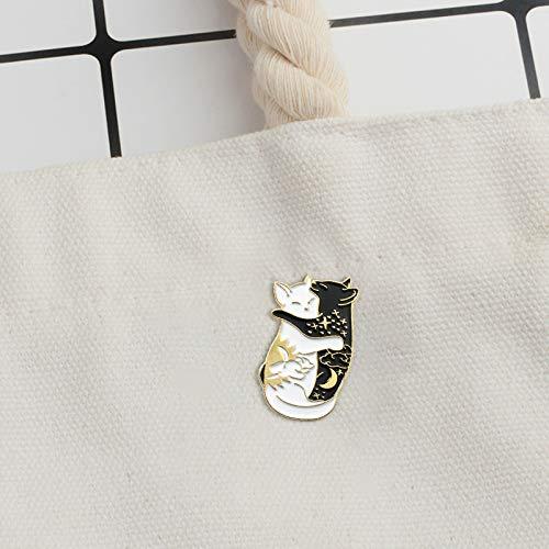 KDSANSO Animales Pins Insignias Broche de Dibujos Animados Esmalte Bandera Bot/ón de la Solapa Pin Joyer/ía Mujeres Presente Presente Bolsas Ornamento Retro Broches