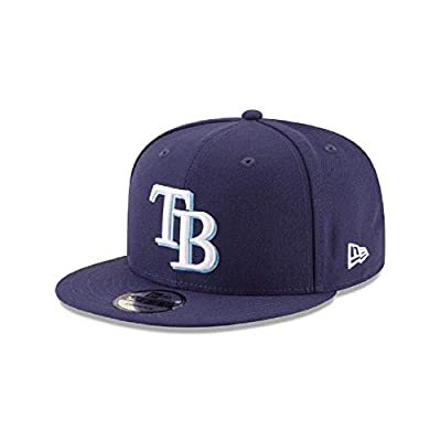 New Era Tampa Bay Rays Team Color 9FIFTY Adjustable Hat Blue