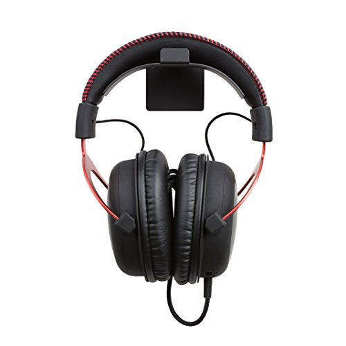 HIDEit Uni-H Universal Headset Wall Mount - Wall Mount for Gaming Headsets, Headphones, VR Headsets and More - Made in the USA and Trusted Worldwide Since 2009