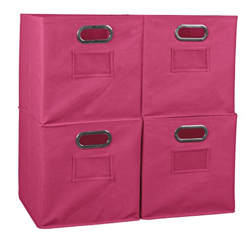Set of 4 Niche Cubo Foldable Fabric Bins Only $5.76