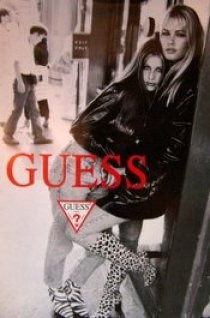 POSTER-GUESS JEANS ORIGINAL ADVERTISING POSTER from Graphic Expectations, Inc.