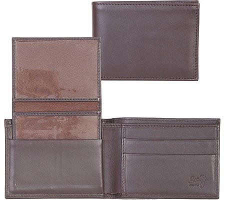 Pass RG15R Case Chocolate Billfold Men's Harness Scully Leather Leather Men's Pass Scully dSqvxdUnC