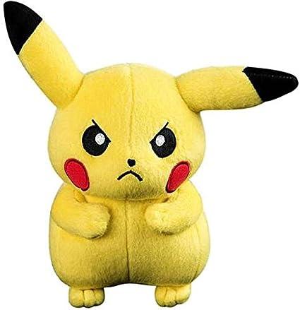 "Pokemon Angry Pikachu 8/"" Plush Tomy"