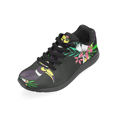 D-histoire Jogging Running Sneaker Femmes Confort Décontracté Sport Marche Chaussures De Course Multi11