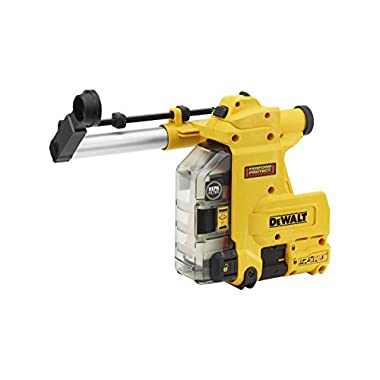 DEWALT D25304DH Cordless Onboard Dust Extractor for SDS-Plus Hammers with HEPA Filter-Perform and Protect Shield 6