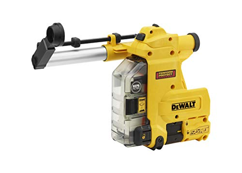 DEWALT D25304DH Cordless Onboard Dust Extractor for SDS-Plus Hammers with HEPA Filter-Perform and Protect Shield 1
